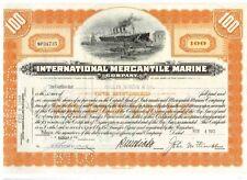 IMM International Mercantil Marine 1943 Titanic White Star Line