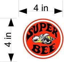DODGE SUPER BEE car & truck vehicle decals/stickers