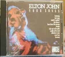 RARE Elton John: Your Songs CD Made in Japan 10 Tracks
