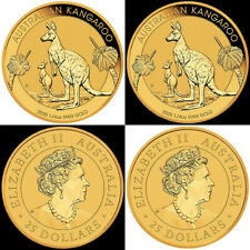 2020 Australian Kangaroo 1/4oz Gold Bullion Coin Perth Mint 99.99%