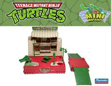 TMNT Mini Mutants Pizza Wars Playset 1994 Ninja Turtles Mighty Max LEGO