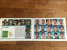 Album figurine MEXICO 70 COMPLETE sticker card cromos world cup mundial 1970 map