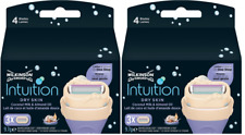 Schick Intuition by Wilkinson Sword Razor Blades, Dry Skin, 6 Cartridges