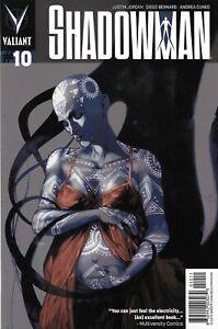 Shadowman Comic 10 Cover A Stephane Perger First Print 2013 Justin Jordan Torre