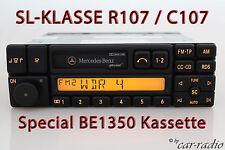 Original Mercedes R107 SL-Klasse Special BE1350 Becker Radio Kassette Autoradio