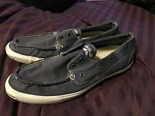 CONVERSE Chuck Taylor AS JACK PURCELL JP Boat Slip Laceless Navy 11.5 Shoes