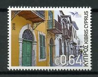 Cyprus 2018 MNH Mediterranean Houses EUROMED 1v Set Architecture Stamps