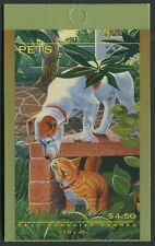 PETS 1996 - MINT BOOKLET OF SELF-ADHESIVES