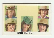 1960s Swedish Pop Star Card #78 pre Abba Hep Stars with Beatles Sectional Back