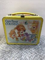 Vintage 1985 Care Bear Cousins Metal Lunch Box - No Thermos
