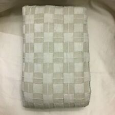 Hotel Collection  Diamond Embroidered Quilted Sham King Cotton Beige