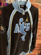Nike Air Jordan Chicago Varsity Velvet Sample Jacket One Of A Kind Powder blue