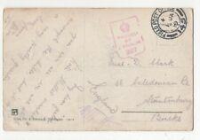 Military Field Post Office 145 Postmark 1 Jan 1919 Maglio Di Sopra Postcard 048c