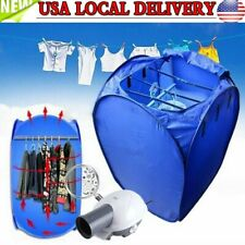 800W Air-O-Dryer Portable Mini Electric Clothes Dryer Air Heater Folding Machine
