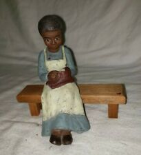 "Sarah's Attic Resin Figurine ""Hattie"" 1989 Numbered Usa 920"