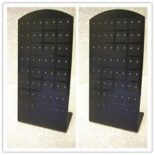 2 pc of Black Plastic Earring Displays-8953
