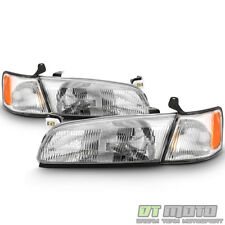 For 1997 1998 1999 Toyota Camry Headlights Headlamps W Corner Lights Left Right Fits