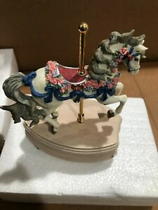 Westland Carousel Collection Limited Edition Black Horse Somewhere In Time #6123