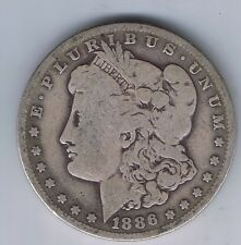 1886 O Morgan Silver Dollar Liberty Head $1 liberty head one coin !