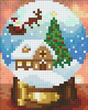 Pixelhobby UK  Snowglobe 1 Baseplate Exclusive Kit - as seen in Crafts Beautiful
