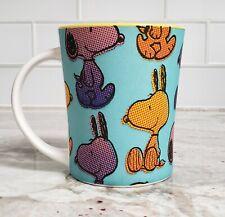 PEANUTS by Gibson Overseas Inc. Coffee Mug Colorful Snoopy Cup