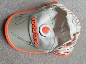 Lewis Hamilton Signed Cap McLaren Mercedes 2009 dated Autograph World Champion