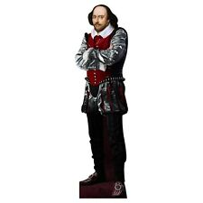 H79025 William Shakespeare Cardboard Cutout Standup