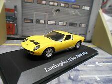 LAMBORGHINI Miura P400 P 400 V12 1966 gelb Atlas IXO Sonderpreis Mysthiques 1:43