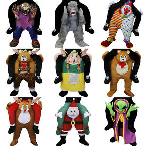 PICK ME UP RIDE ON COSTUME NOVELTY HALLOWEEN FANCY DRESS PIGGY BACK FUNNY OUTFIT