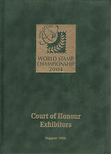 Singapore 2004 World Stamp Championship, Court of Honour Exhibits. NEW