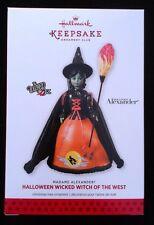 2013 Hallmark Halloween Wicked Witch of the West Madame Alexander Oz Club - MIB