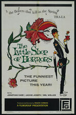 Roger Corman's The little shop of horrors movie poster