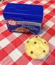 VTG FISHER PRICE Pretend Play Food Kitchen Baking Cupcake Blueberry MUFFIN Mix