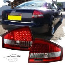 REAR TAIL LED LIGHTS RED-CRISTAL FOR AUDI A6 4B C5 97-04 SALOON LAMPS