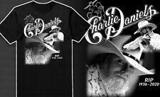 Charlie Daniels T-shirt shirt clothing tribute devil georgia crossroads 2020