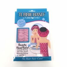 Turbie Band By Turbie Twist Beauty Head Wrap No Hair In Face Care Softer Pink