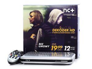 DEKODER HD TELEWIZJA NA KARTE NC+ 12 MIESIECY PAKIET START + NC+ 1st class
