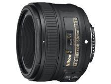 Nikon single focus lens AF - S NIKKOR 50 mm f / 1.8 G full size compatible AF -