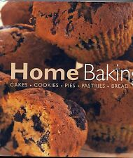 Home Baking: Cakes Cookies Pies Pastries Bread FREE AUS POST used hardcover