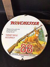 Vintage Winchester 88 porcelain sign