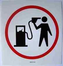 BANKSY señal Bomba De Gasolina Blur A4 signo Aluminio Metal