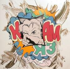 """John Matos """"Crash"""" K Bam Hand Signed Numbered Serigraph"""