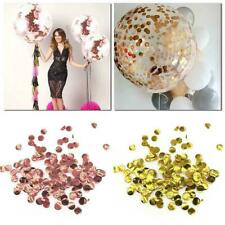 10g Round Sprinkles Confetti Balloon Decoration Wedding Birthday Party F7M0