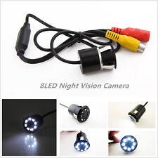 8 LED 18.5mmCarReverseBackupParking Night Vision CameraKitWaterproofDC