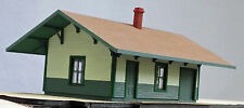NORTH WHITEFIELD DEPOT O On30 Model Railroad Unpainted Structure Laser Kit DF216