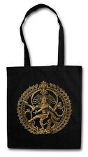 Shiva VINTAGE HIPSTER BAG-BORSA TESSUTO STOFFA sacchetto-induismo Yoga Buddha OM