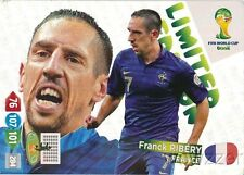 2014 Panini Adrenalyn World Cup EXCLUSIVE Franck Ribery Limited Edition MINT