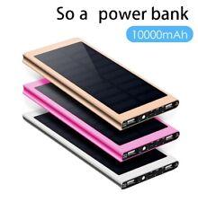 10,000mAh Super Slim Portable Solar Power Bank