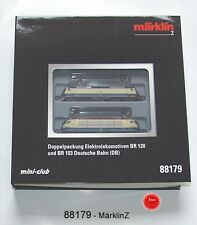Märklin 88179 Ensemble de Train Elektroloks BR120 et BR103 les allemands train #