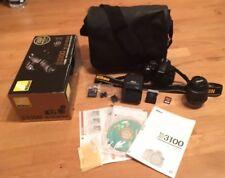 Nikon D3100 DSLR Camera With AF-S NIKKOR 18-55mm VR Lense With Bag